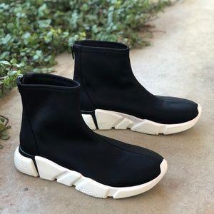 Jeffrey Campbell Redman Sock Sneakers Joggers